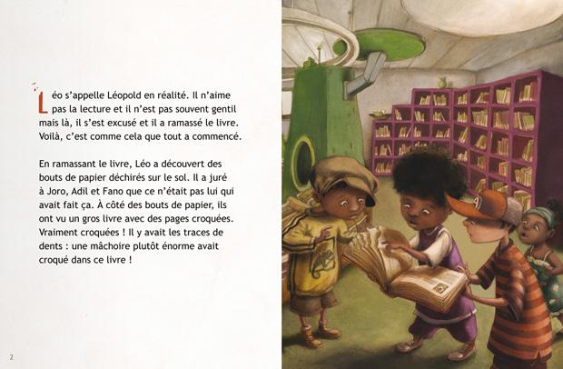 Le Croqueur de livres- planche 2